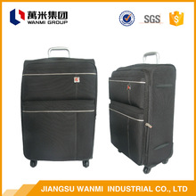 China wholesale protective case colourful travel trolley luggage bag