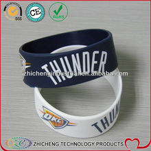 remarkable design cool style trendsetter must-have silk print Silicone Wristbands best selling bracelet comfortable bangle