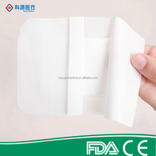 Medical large waterproof adhesive bandage for wound care