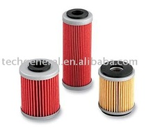 Motorcycle part, oil filter for dirt motocross engine