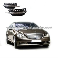 High quality LED day running lights/DRLs with cover for BENZ S-CLASS W221 style