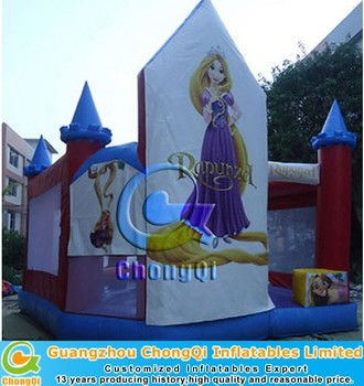 2015 New inflatable princess bouncy castle for sale