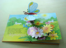 Customized Childeren's Printed Pop Up Reading Book