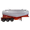 tri-axles heavy duty powder material semi trailer with factory price
