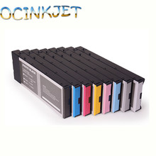 Ocinkjet T5441-T5448 Compatible Ink Cartridge Full With Dye Ink For EPSON Stylus Pro 4000 7600 9600