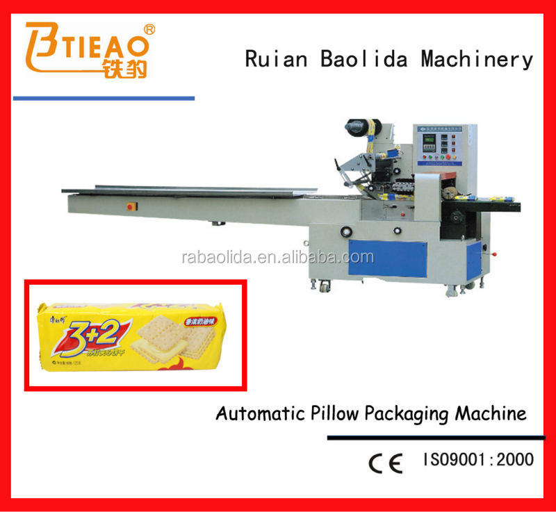 Horizontal marshmallow packing machine