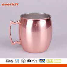 Delicate Golden Stainless Steel Beer Cup Tumbler with Handle