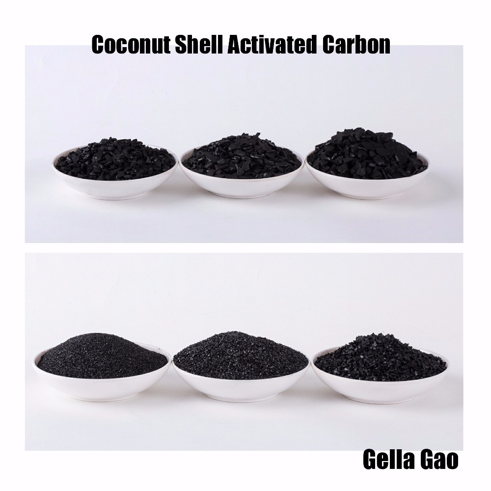 Activated charcoal carbon manufacturers suppliers nut shell granular activated carbon gold reginery