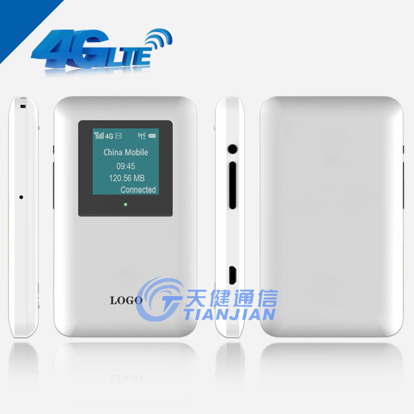 Outdoor Mobile LTE GSM 4G Pocket Wireless WiFi Router