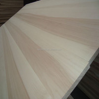 Poplar Solid wood Board in Shandong factory