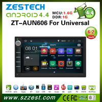 2015 NEW HOT SELLING car dvd gps player for Universal Android 4.4.4 up to 5.1 OBDII 1.6GHz MCU 3G WiFI