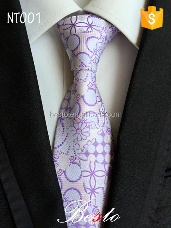 Hot sale fashion men silk neck tie for business suits