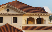 roof tiles prices for external building material Size of A tile