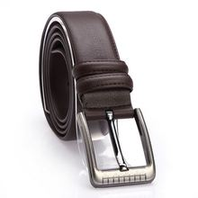 Genuine Leather Belts High Quality Men's pin buckle belt fashion wholesale belts for men