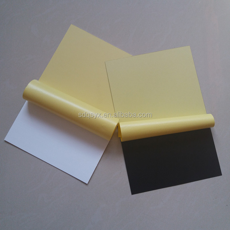 Customize any size pvc sheet for photo album, white and black pvc sheet