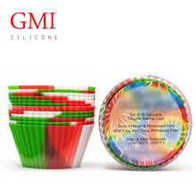 Fancy Silicone Muffin Baking Cups, Cupcake Silicone Baking Cups, Food Grade Silicone Mini Cake Mould