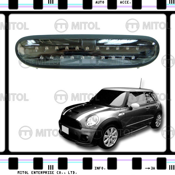 For Mini Cooper R56 CLR/BLK LED Fog Light Fog Lamp 07-on