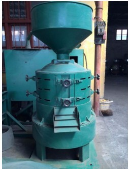 Small farm grain thresher rice peeling machine rice sheller machine