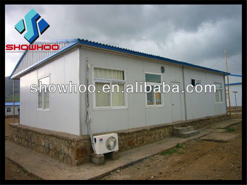 Sandwich prefabricated light steel frame homes