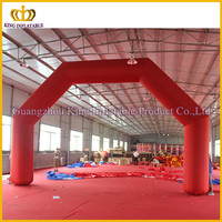China red air tight top quality promotional inflatable arch,inflatable balloon arch