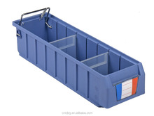 dividable plastic storage bins for accessories spare parts warehouse usage