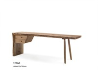 Simple Design Made In Wood As Writing desk Or Office Desk Or Learning Desk With Two Drawers