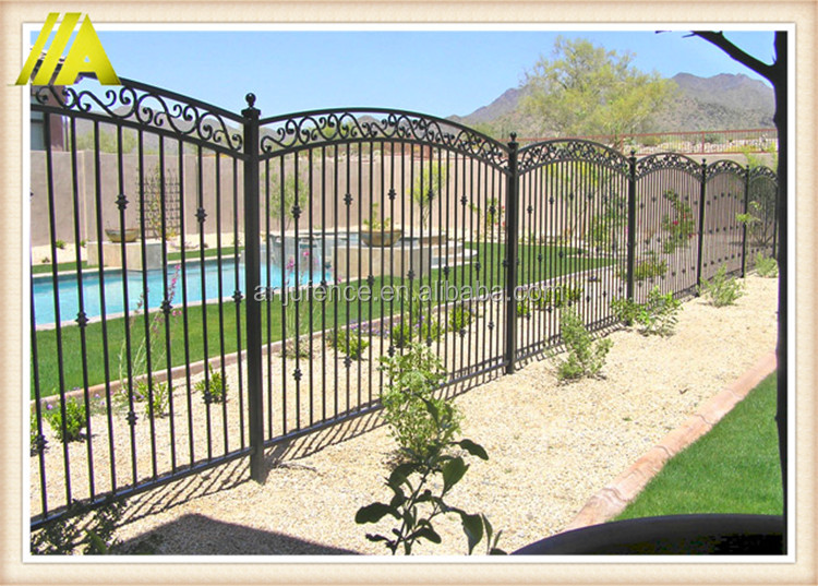 AnJu company Economic metal Garden Privacy fence