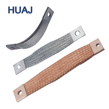 Laminated Earthing High Current Copper Wire Braided Flexible Connectors