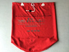 High Quality 100% Polyester Red Hospital Laundry Bag
