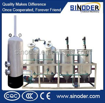Competitive price crude oil refinery / oil refinery plant for oilseeds and palm