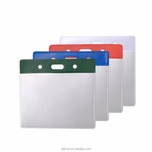 Transparent Custom Soft Vinyl PVC Business Card Holder <strong>Wallet</strong>
