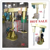 China factory high speed emulsion paint mixer machine /disperser/paint dissolver