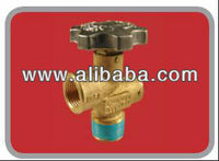 VALVE FOR PORTABLE GAS CYLINDERS