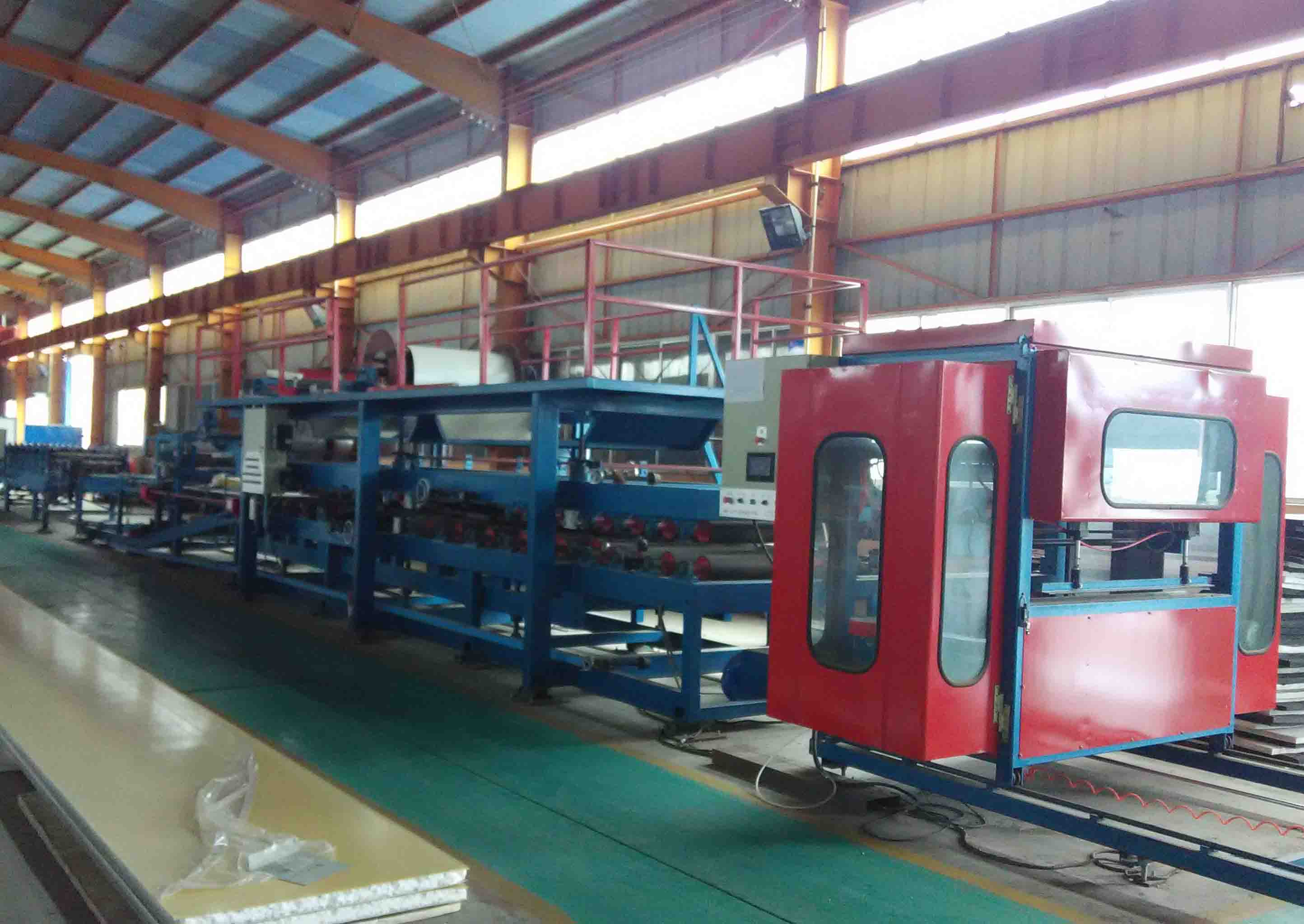 Sandwiching and Packaging -Sandwich Panel