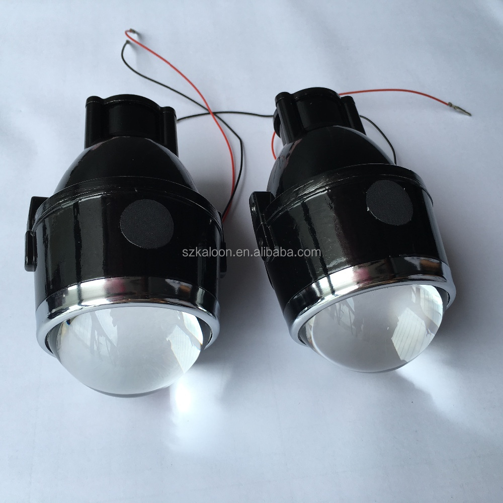 12V 35W bi xenon fog lamp projector lens high low bean fog light lens