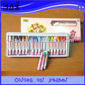 18 color oil pastel kids drawing art set