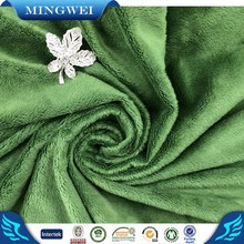 China Products 100% Polyester Rainbow Colored Velour Fabric for Garment