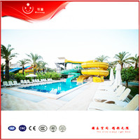 High Quality Pretty Cheap Price Good Service Flume Water Slide