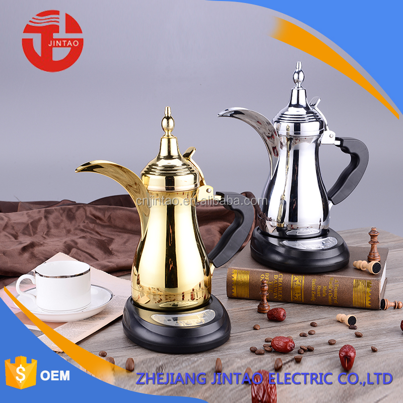 2016 new design coffee tea pot arabic coffee pot dallah