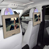 "Capacitive screen 10.1"" car headrest mount portable dvd player touch control"