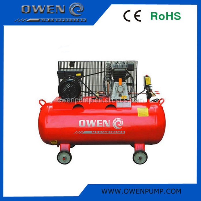 3.0HP Oil lubricated belt driven air compressor 200L china supplier