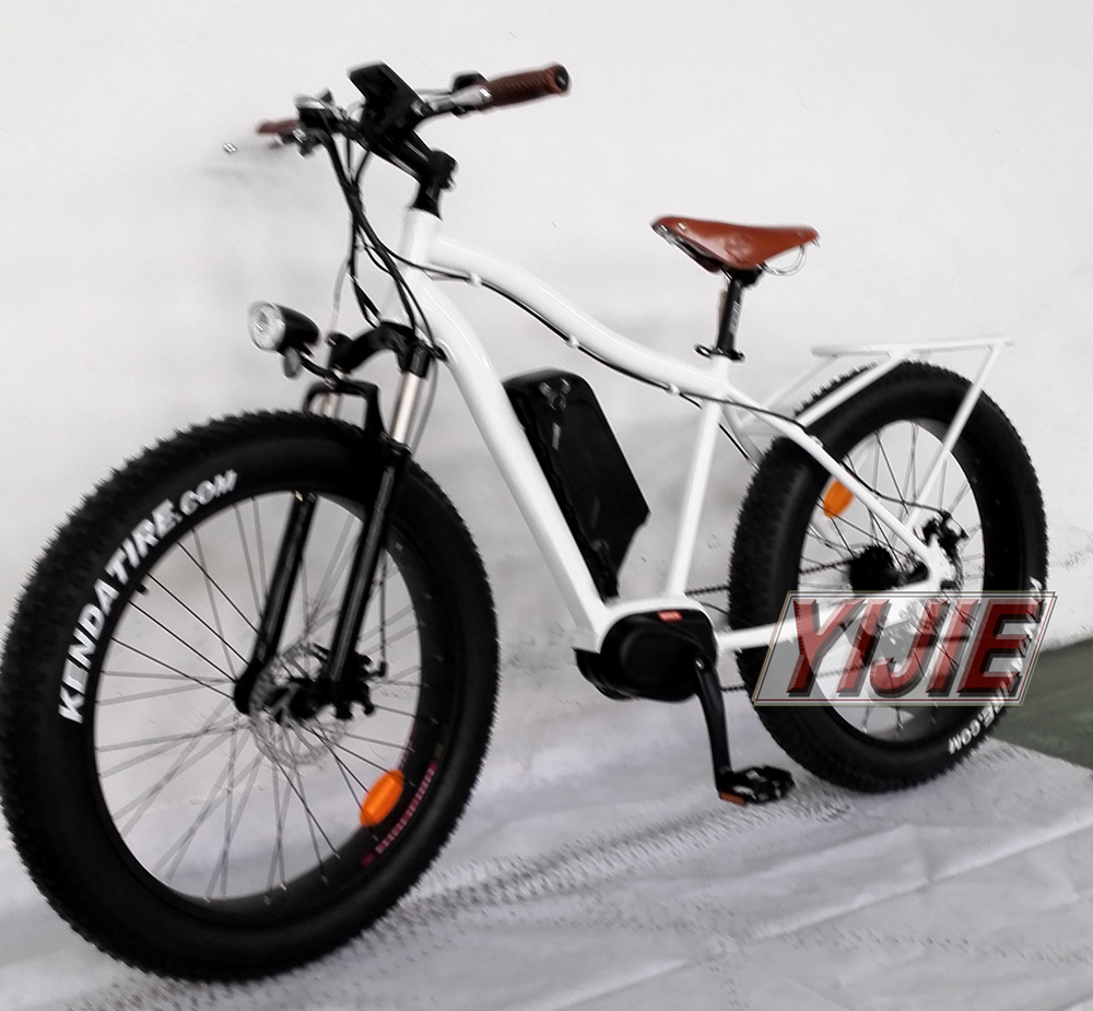 2016 high quality new fat tire mid drive motor electric for Mid motor electric bike