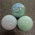 Professional rubber massage ball multi- color lacrosse ball