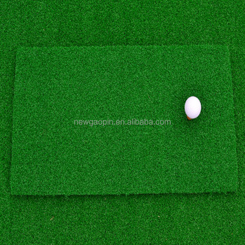Excellent quality portable golf hitting mat mini golf swing mat