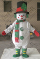 NO.4322 custom clown style snowman mascot costumes