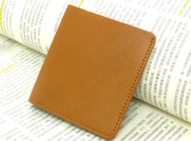 Hot selling cash holder money pocket wallet confortable genuine leather