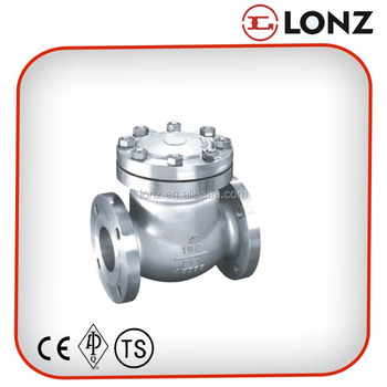 API Stainless Steel CF8 Flanged Swing Check Valve Price