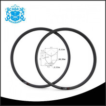 Hot style 3K/UD 24 tubular 23mm width 595mm erd carbon new bike rims