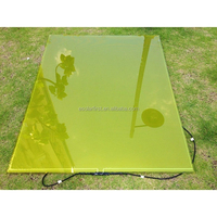 high quality a-si color thin film solar panel