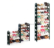 Cheap 50 pairs 10 tiers shoe rack